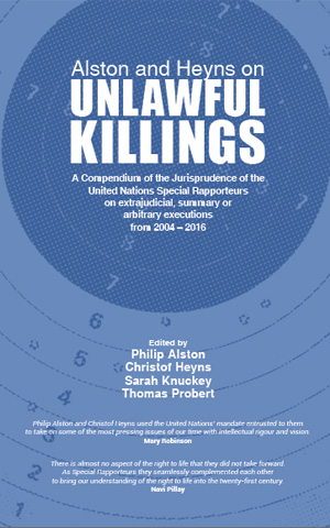 Alston and Heyns on Unlawful Killings